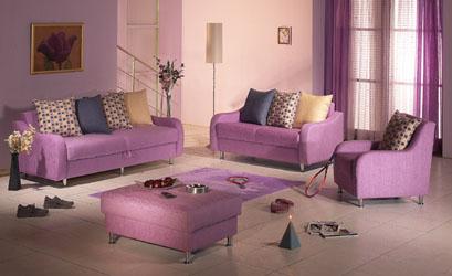 istikbal lila renkli koltuk modelleri