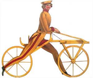 Baron von Drais Bisikletin icadı