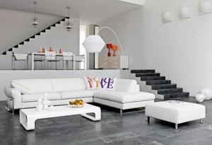 ipek mobilya beyaz salon takımı