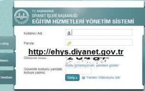 ehys.diyanet.gov.tr